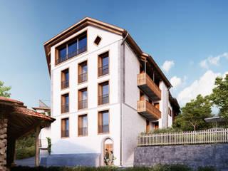 von Mann Architektur GmbH: rustik tarz tarz Evler