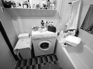 mała łazienka: styl , w kategorii  zaprojektowany przez Zbigniew Winiarczyk