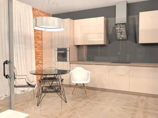 Квартира на ул. Полевая: Кухни в . Автор – A.workshop,