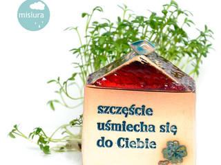 Własny dom: styl , w kategorii  zaprojektowany przez AGNIESZKAPRUCIA MISIURA DESIGN