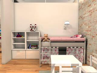 Квартира на ул. Первомайская: Детские комнаты в . Автор – A.workshop,