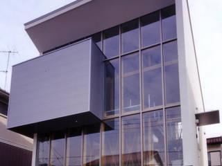豊田空間デザイン室 一級建築士事務所 Casas de estilo moderno Vidrio Transparente