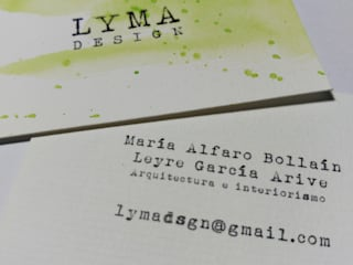 Tarjeta de presentación:  de estilo  de LYMA DESIGN