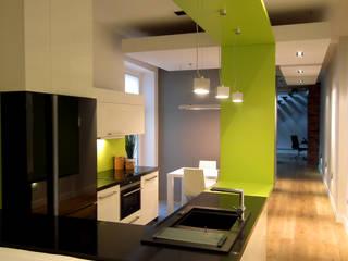 Mieszkanie Katowice: styl , w kategorii Kuchnia zaprojektowany przez LMarchitekt