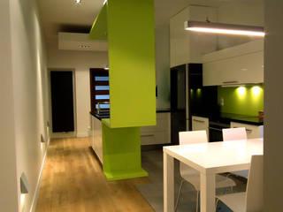 Mieszkanie Katowice: styl , w kategorii Jadalnia zaprojektowany przez LMarchitekt