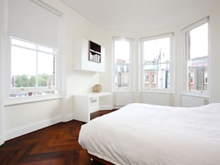 South Brompton Apartments, London Minimalist bedroom by PAD ARCHITECTS Minimalist