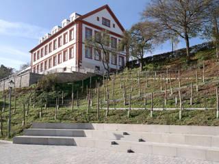 Neugestaltung Schlossgarten Geisa: moderner Garten von STORCH.LANDSCHAFTSARCHITEKTUR