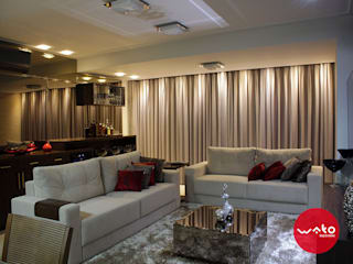 WAKO Design de Interiores Modern living room