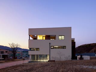 SONGCHU MAPLE HOUSE : IDEA5   ARCHITECTS의  주택,모던