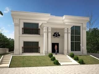 現代房屋設計點子、靈感 & 圖片 根據 TRAÇO FINAL ARQUITETURA E INTERIORES 現代風