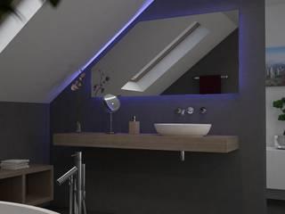 Spiegel für Dachschrägen von Lionidas Design GmbH Minimalistisch