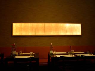 Vilten lichtpaneel 2,60 x 0,5:  Gastronomie door Vilt aan Zee
