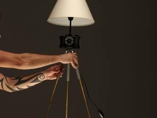 FotoLampa DRUH FLOOR: styl , w kategorii  zaprojektowany przez RefreszDizajn