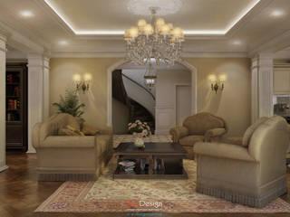 Salas de estilo clásico de DA-Design Clásico