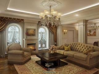 Classic Style Гостиная в классическом стиле от DA-Design Классический