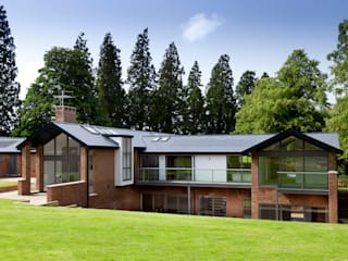 The Orangery & The Grove: modern Houses by Hinton Cook Architects