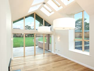 The Orangery & The Grove:  Living room by Hinton Cook Architects