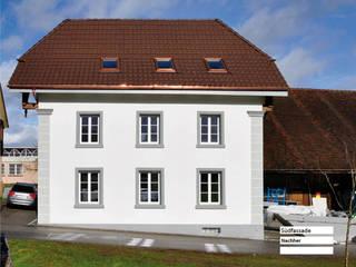 Sanierung Umbau - Bauernhaus Stöckli in Reitnau, Aargau:  Häuser von raumquadrat GmbH