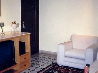 Projeto 6, Brasil : Salas de estar  por Ana Cristina Daré,Moderno