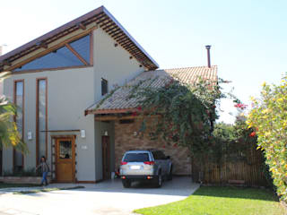 Casa Resedás Casas modernas por Documenta Arquitetura sc ltda Moderno