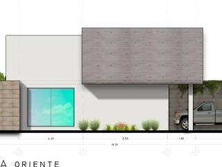 RAFAEL GUZMAN MADRID TALLER DE ARQUITECTURA Modern houses