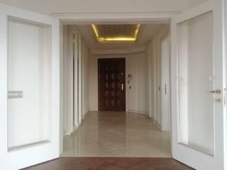Modern corridor, hallway & stairs by Mimark Tasarım Proje Uygulama Ltd. Şti. Modern