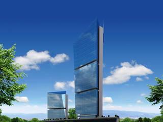 Can Şimşek Mimarlık Atölyesi – Mihrapli Business Center Bursa/Turkey (Drafting):  tarz