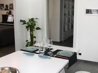 BUON APPETITO! Sala da pranzo minimalista di VALENTINA BONANDIN STUDIO TECNICO Minimalista