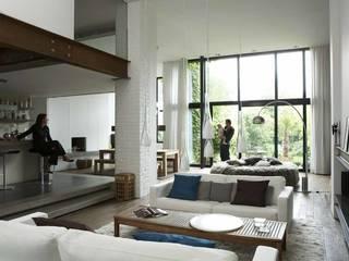 Salones minimalistas de vr-architecture Minimalista