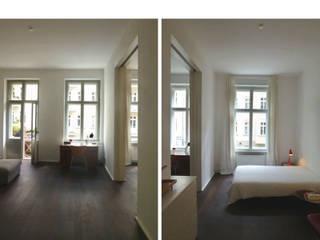 Cuartos de estilo  por Goderbauer Architects, Moderno