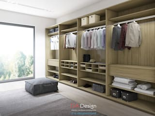 Minimalist dressing room by DA-Design Minimalist