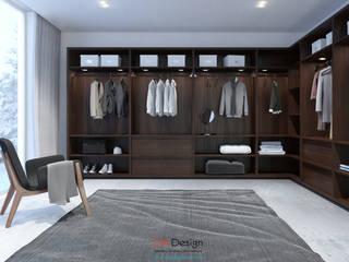 Closets de estilo minimalista de DA-Design Minimalista