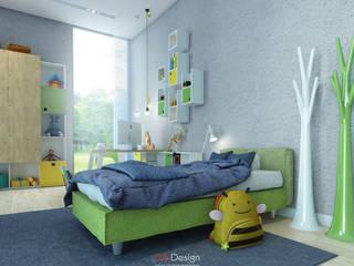 Tic-Tac-Toe Collection Детская комнатa в стиле минимализм от DA-Design Минимализм