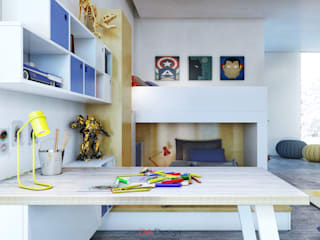 Minimalist nursery/kids room by DA-Design Minimalist
