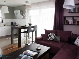 modern home Nowoczesna jadalnia od Anna Krzak architektura wnętrz Nowoczesny