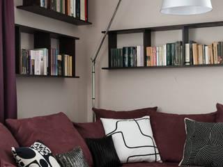 Modern living room by Anna Krzak architektura wnętrz Modern
