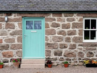 Old School House, Glen Dye, Banchory, Aberdeenshire Roundhouse Architecture Ltd Fenêtres & Portes rurales