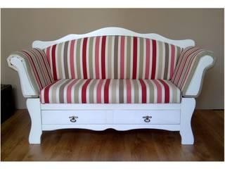 Sofa szezlong: styl , w kategorii  zaprojektowany przez Agnieszka Gamus