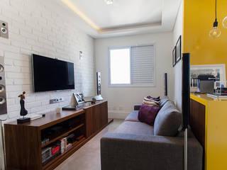Projeto Saúde: Salas multimídia  por Melina Romano Arquitetura de Interiores,Moderno