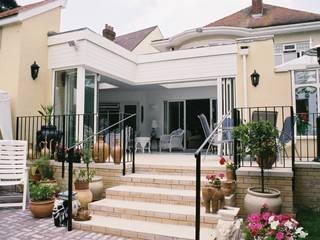 Glas-Faltwand SF 75, Projekt England:  Wintergarten von SUNFLEX Aluminiumsysteme GmbH