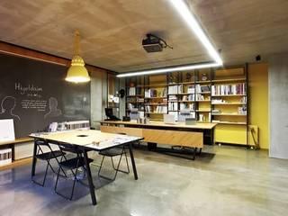 Minimalistische Geschäftsräume & Stores von Hiyeldaim İç Mimarlık & Tasarım Minimalistisch