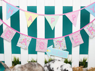 Happy Easter Vintage Floral Bunting:   by Sass & Belle