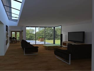 House Extension Modern living room by allenarchitecturelimited Modern