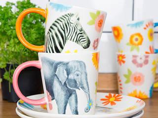 Safari Floral Mugs:   by Sass & Belle