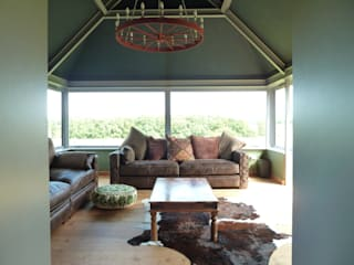 New Garden Room Modern living room by allenarchitecturelimited Modern