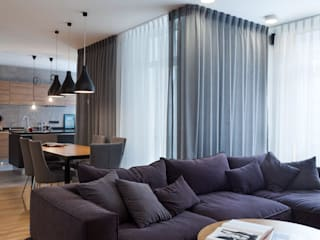 Квартира с характером: Гостиная в . Автор – LPetresku