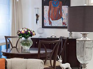 Селезневская Столовая комната в эклектичном стиле от Bituleva Project Эклектичный