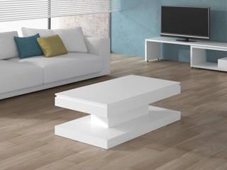Mesa de centro elevable y con un diseño muy moderno:  de estilo  de Martbert Mobiliario