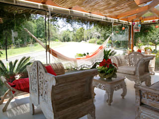 Colonial style conservatory by Brasilchic Colonial
