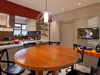 Isabela Bethônico Arquitetura Ruang Makan Modern
